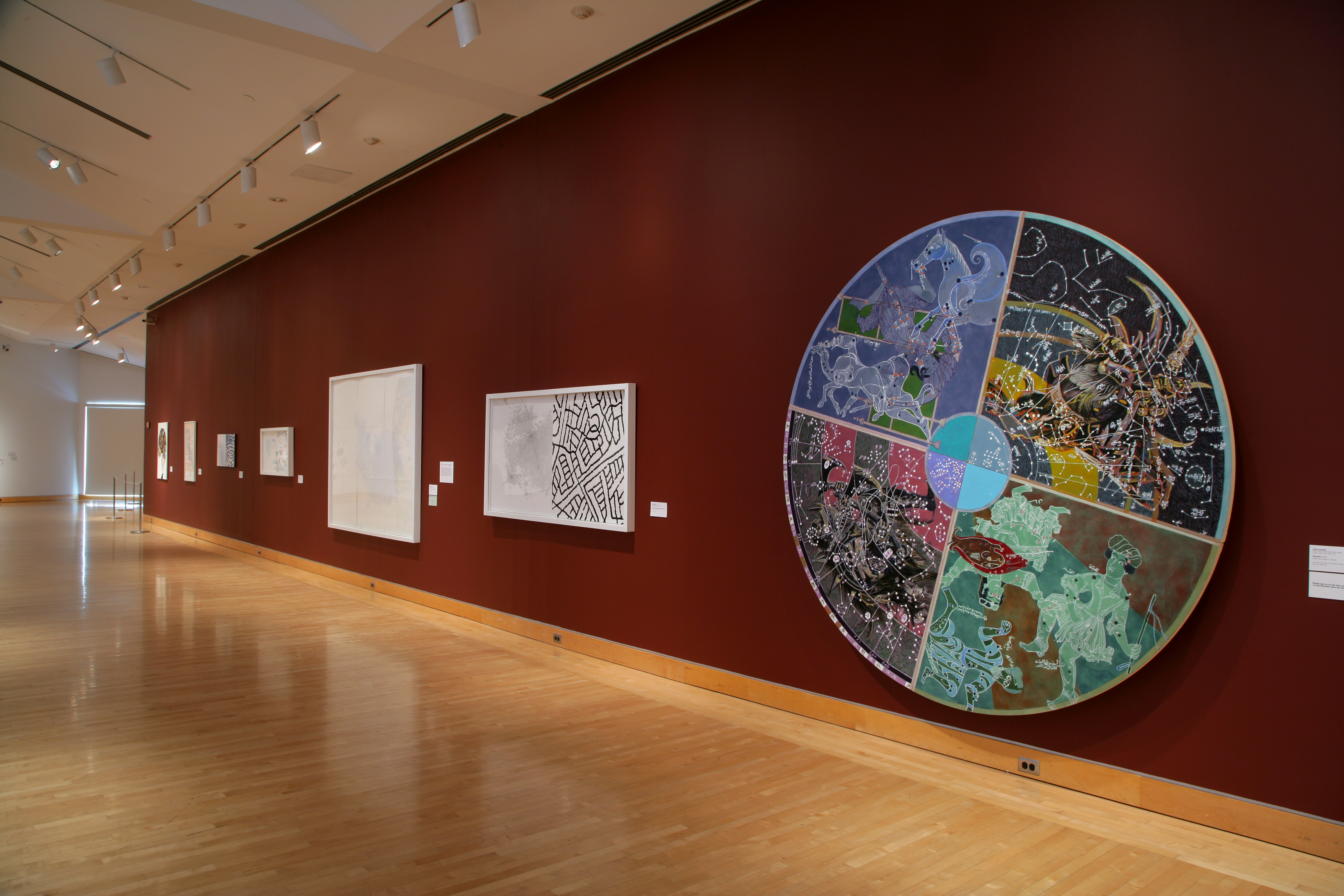 The map as art kemper museum of contemporary art installation view of the map as art in the charlotte and crosby kemper gallery kemper museum of contemporary art photo bruce mathews gumiabroncs Gallery